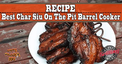 Best Char Siu Recipe On The Pit Barrel Cooker