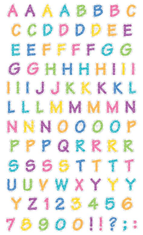 Alphabets & Numbers - Mrs