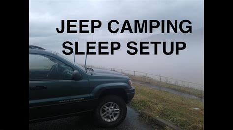 JEEP WJ SUV CAMPING MODS - YouTube