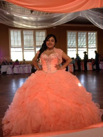 Coral Quinceanera Dresses Picture Collection