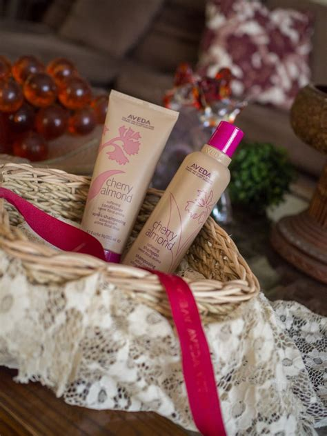 Aveda Cherry Almond Shampoo and Conditioner Review   Lush