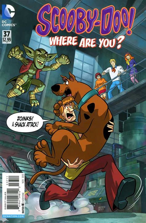 Scooby-Doo, Where Are You? (DC Comics) issue 37