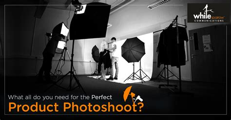 The Ultimate Product Photoshoot Checklist!