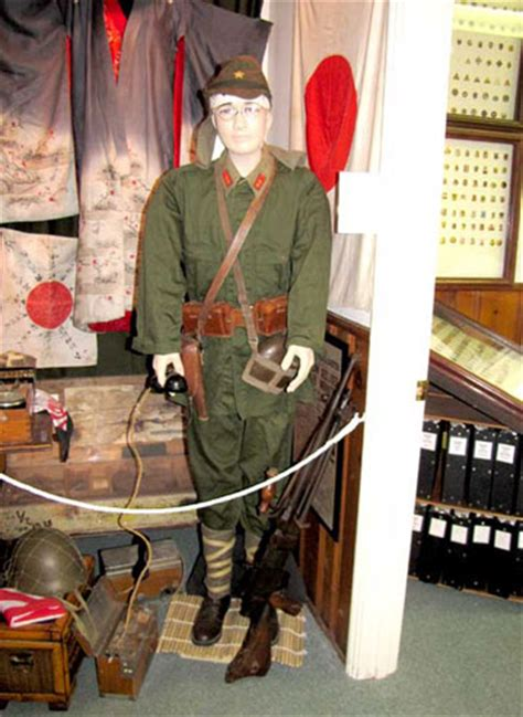 WWII Japanese uniform and field equipment - Camp Roberts