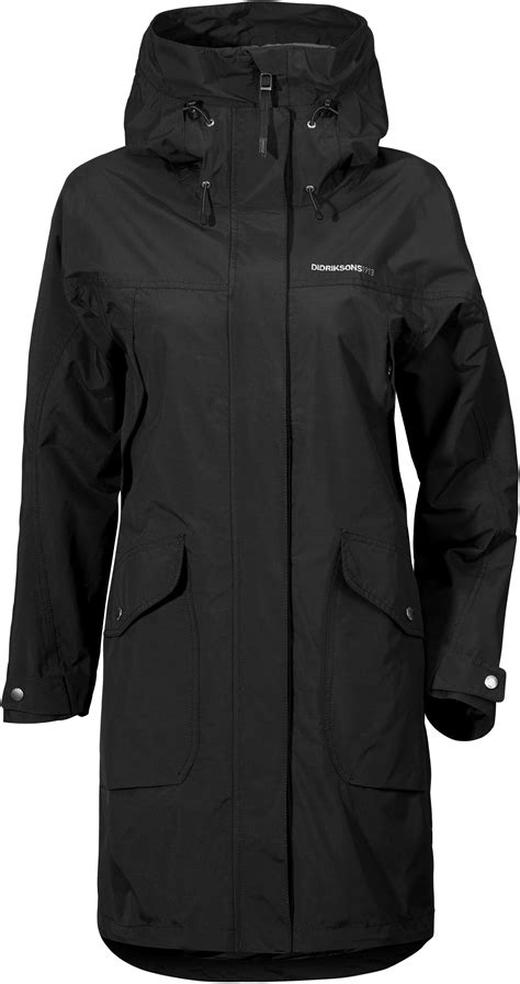 Didriksons 1913 Thelma Parka Dames, black l Online outdoor