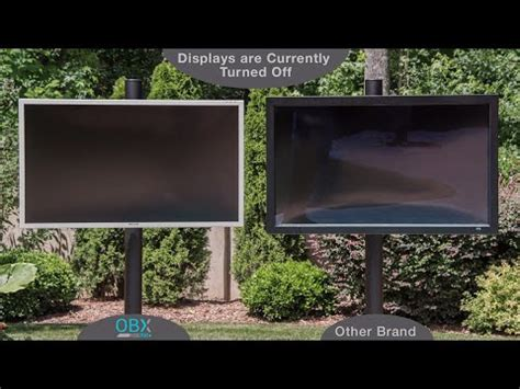 See the Difference - Compare OBX SkyVue Outdoor TV with
