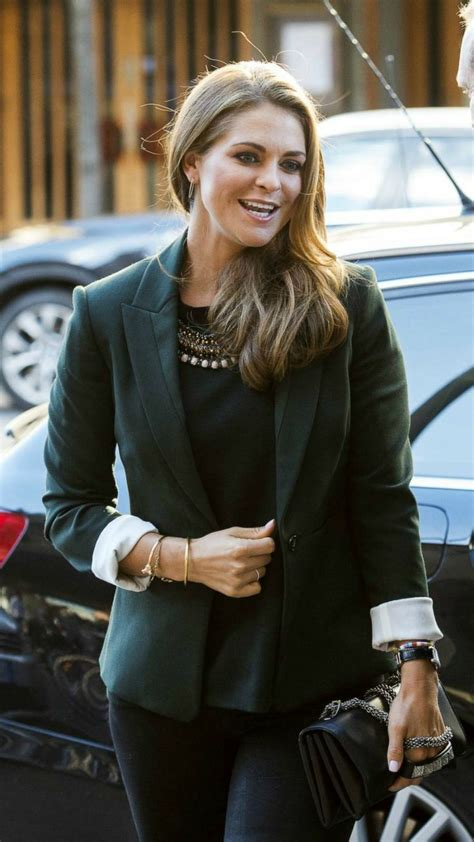 Princess Madeleine attended the official launch event of