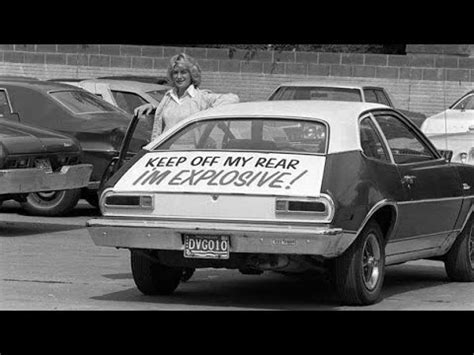 Case: Ford Pinto - YouTube