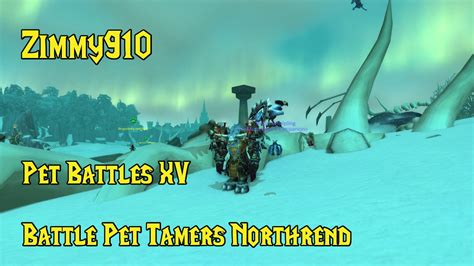 WoW - Pet Battles 15 - Northrend Master Tamers - YouTube