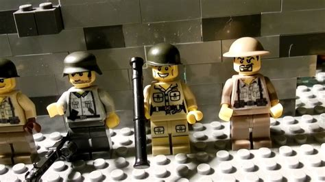 LEGO WW2 AMERICAN AND GERMAN SOLDIERS! - YouTube