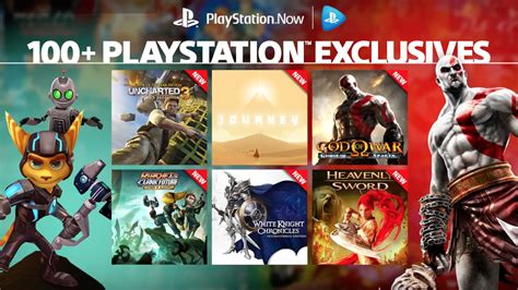 Sony's PlayStation Now adds over 40 PS3 exclusives to its