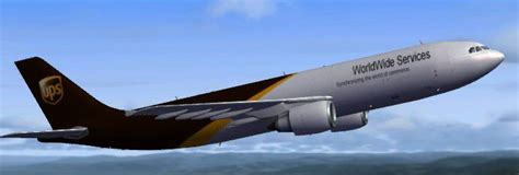 United Parcel Services UPS Airbus A300-600R for FSX