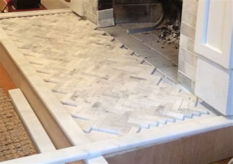 How To Tile Over A Brick Hearth - Shine Your Light