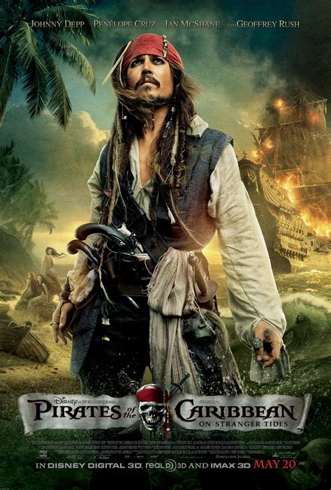 POTC 4 posters - Pirates of the Caribbean: On Stranger