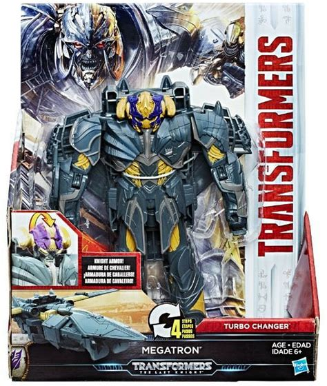 Transformers The Last Knight 2 Step Turbo Changer Megatron