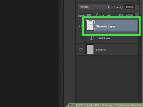 How to Add a Drop Shadow in Photoshop Elements (with Pictures)