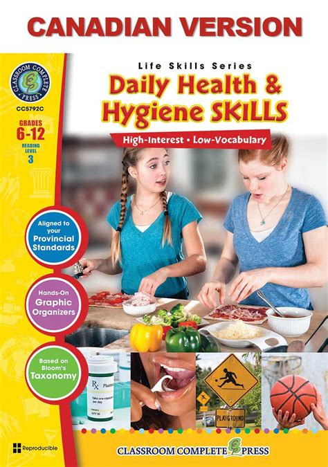 Daily Health & Hygiene Skills - Canadian Content - Grades