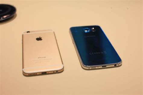 Does the Galaxy S6 really look like the iPhone 6