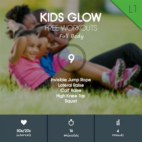 Full Body Indoor Workout for Kids - Limited Space & No