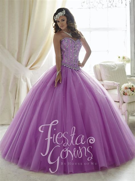 House of Wu 56291 Fiesta Gown with Boned Bodice: French