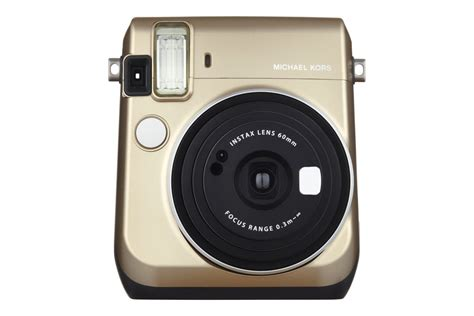 Michael Kors is releasing a branded Instax camera that isn