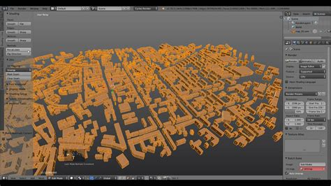 How to Create a City, Covered with Fog in Blender