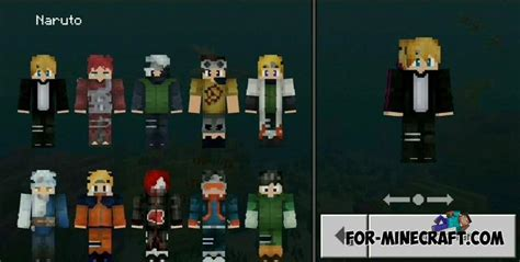 Naruto Skin Pack for Minecraft PE 1