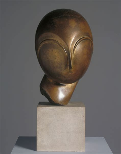 Brancusi sculpture on display at the Sainsbury Centre for