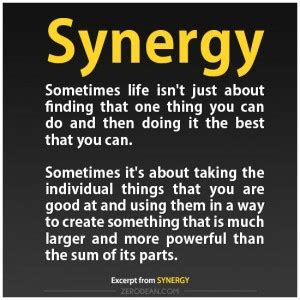 Synergy Team Quotes