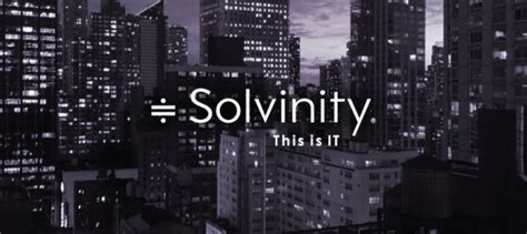 Solvinity | strategy by naming
