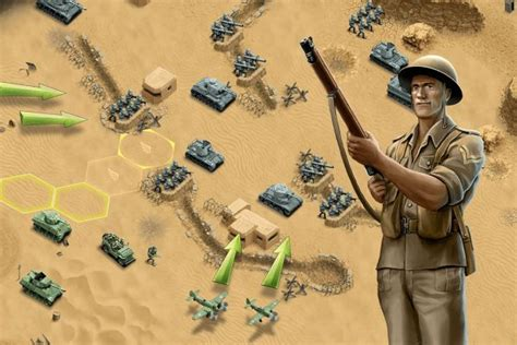 1943 Deadly Desert | WW2 Strategy Game | HandyGames