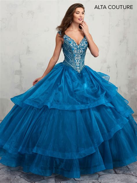 Quinceanera Couture Dresses | Style - MQ3005 in Ocean Color